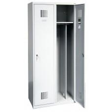 Kleding Locker 2 vaks brede uitvoering