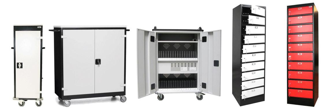 laptop-lockers laptop-trolley uit voorraad leverbaar